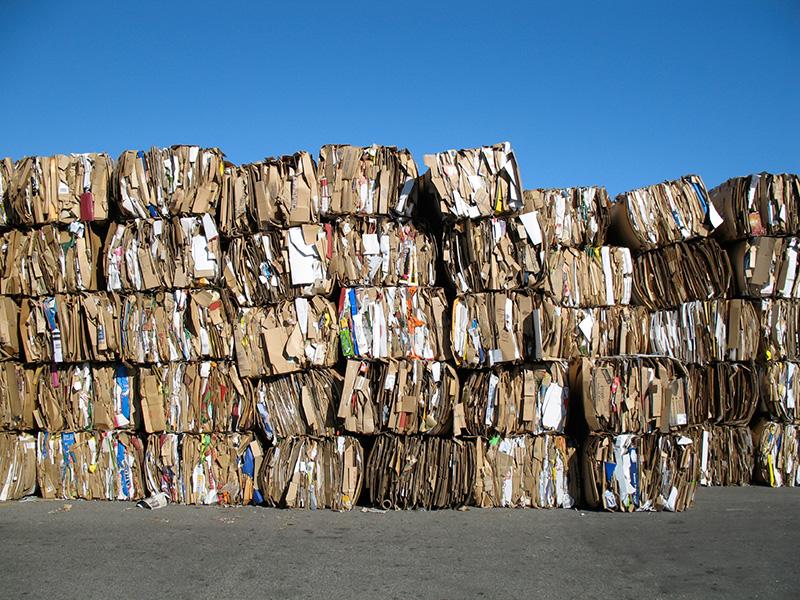 Residuos de papel y cartón