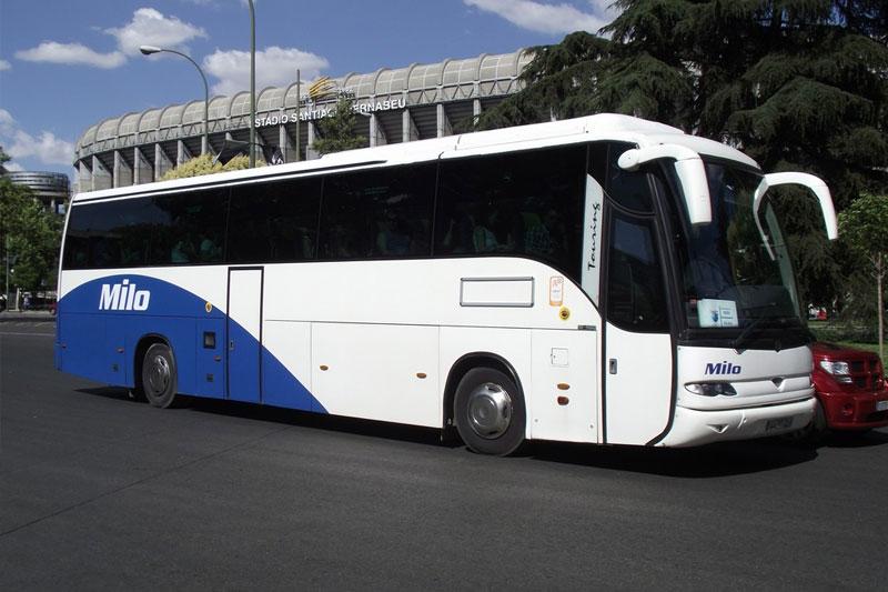 Gestión de transporte de viajeros. Autobús