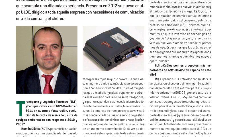Especial gestión de flotas en revista Todotransporte en marzo del 2011
