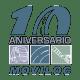 Logo del 10º aniversario de MOVILOC