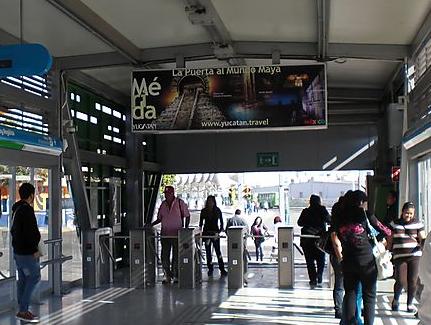Transporte público en México