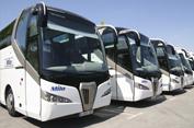 Autobuses para transporte discrecional e viajeros