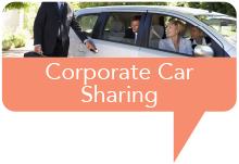 Marker corporate car sharing