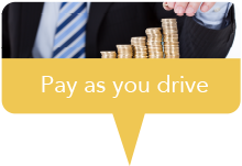 Marker pay as you drive