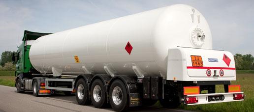 Control de vehiculos de transporte de mercancías peligrosas por GPS