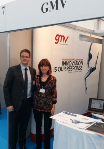 Stand de GMV de la Feria Tecnológica de las Naciones Unidas 2015