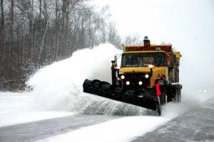 gestión de flotas para el mantenimiento invernal de carreteras