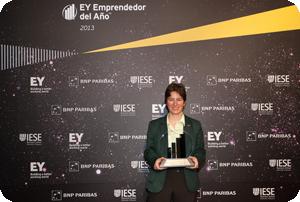 Mónica Martínez, presidenta de GMV, premio Ernst & Young a la Innovación