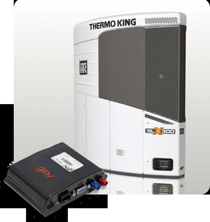Control remoto de la temperatura a través de la integración de MOVILOC® con Thermo King