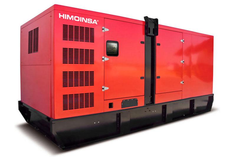 Controlar la flota de maquinaria industrial. Generador de electricidad marca Himoinsa