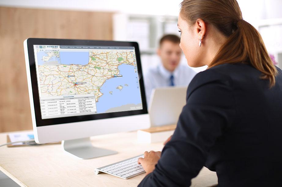 Localización en tiempo real sobre cartografía