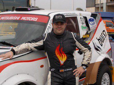 MOVILOC instala su tecnología de localización por GPS en el vehículo del piloto de Rallyes Todo Terreno Rubén Gracia