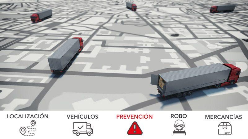 Localización y gestión de vehículos como medida de seguridad para minimizar el riesgo de robo de mercancía