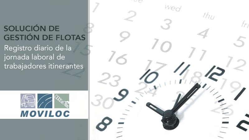 Solución de Gestión de Flotas – registre jornadas laborales de empleados itinerantes